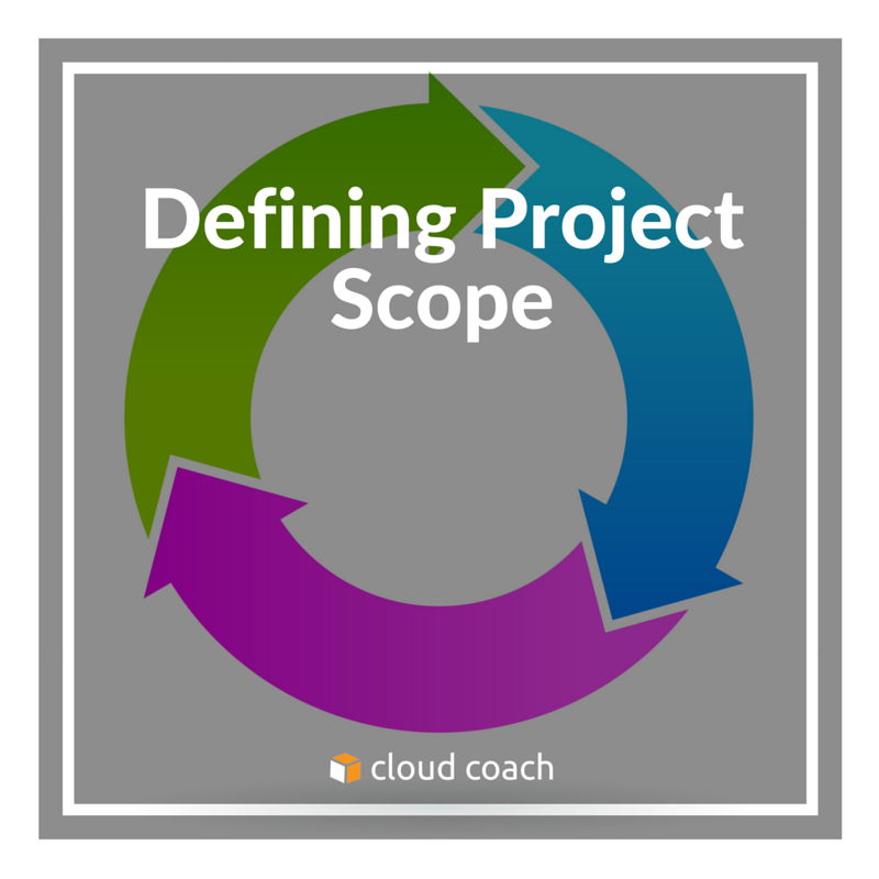 defining project scope