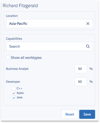 Tag capabilities for better resource management for Salesforce