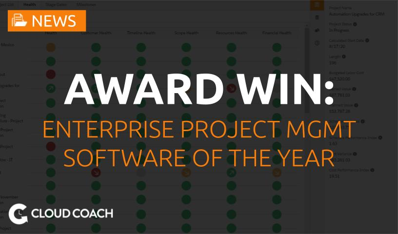 Enterprise project management software of the year
